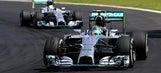 Rosberg holds off Hamilton to win F1 Brazilian Grand Prix