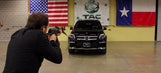Product test: Armored car CEO sits in SUV while shot at by  an AK-47