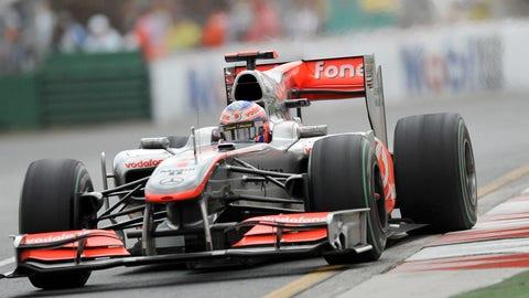 Jenson Button's F1 career