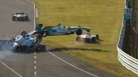 The biggest motor racing wrecks of 2014