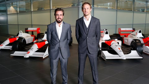 December: McLaren announces 2015 lineup