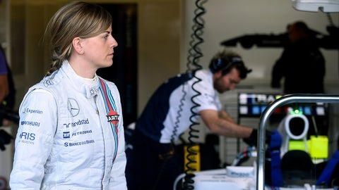 July: Wolff rides for Williams