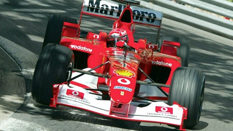 2002: Ferrari F2002