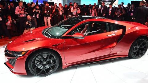 The 2016 Acura NSX