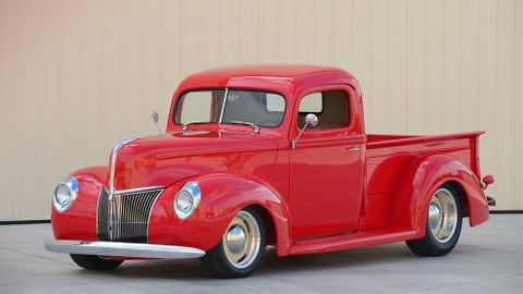 1. 1940 Ford Custom Pickup, $375,000