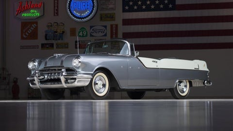 10. 1955 Pontiac Star Chief Convertible, $220,000