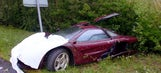 Rowan Atkinson's twice-wrecked McLaren on sale for $12M