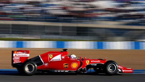 Formula One Testing In Jerez - Day 1
