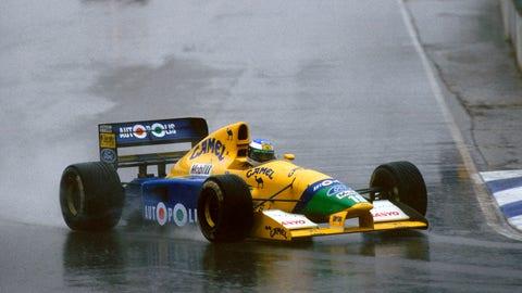 Yellow F1 cars
