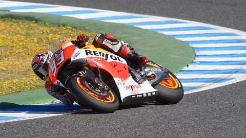 Marc Marquez's wins in 2014