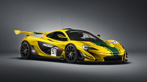 Photos of the McLaren P1 GTR