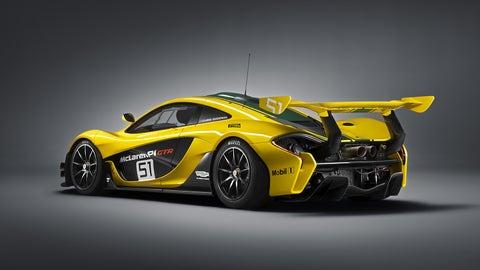 Photos of the McLaren P1 GTR