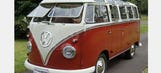 Classic Volkswagen 23-window bus brings in six figures at auction