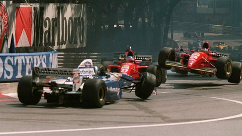 The 1995 F1 season in photos
