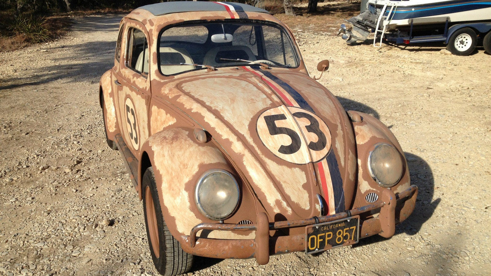 Herbie the Love Bug sold for $32,100 on eBay auction | FOX Sports