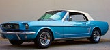 Company building, selling brand-new 1964 Mustangs