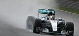 F1: Hamilton edges Vettel to Malaysia pole as rain mixes up qualifying