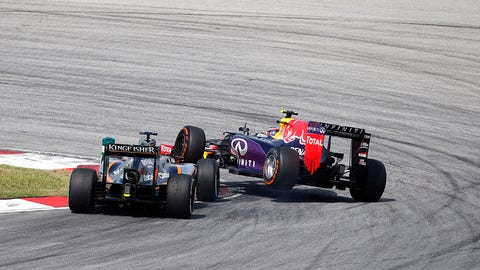 F1: The Malaysian GP in photos