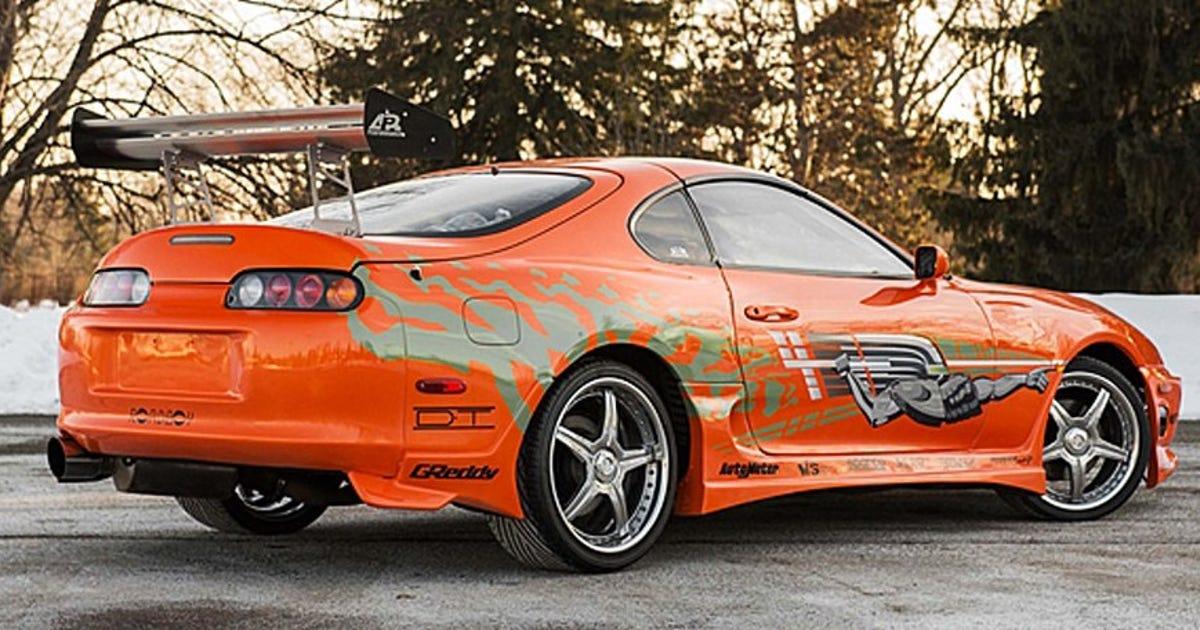 Paul Walker's 'Fast and Furious' 1993 Supra stunt car ...