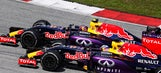 Horner says Red Bull cars are not competing, 'just going around'