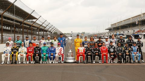 Starting lineup for the 2015 Indianapolis 500