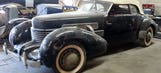 Long-lost 1937 Cord found in old barn after half-century