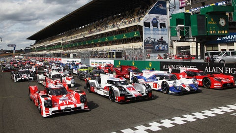2015 24 Hours of Le Mans starting lineup