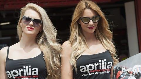 Sights from the Catalunya GP