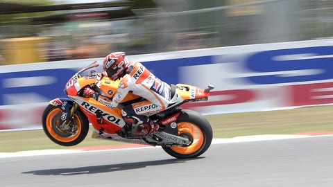 Sights from the Catalunya GP
