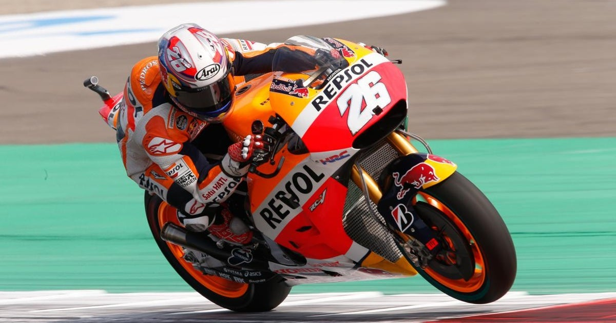 Pedrosa crushes lap record to top MotoGP practice at Assen | FOX Sports
