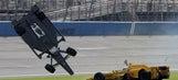 WATCH: IndyCar driver Briscoe uninjured in 210 mph airborne crash