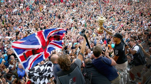 Hamilton's British GP win in photos