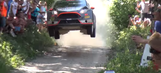 WRC: Watch two minutes of jumps from last weekend's Rally Poland