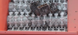 Watch as shredder tears through engine blocks