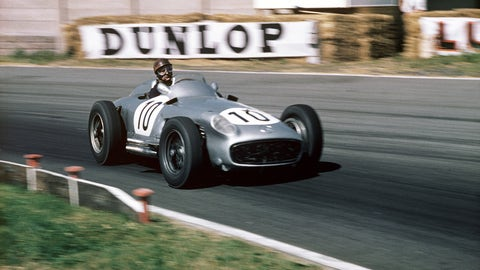 10. Mercedes - 1955 - 71% of wins