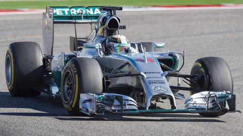 5. Mercedes - 2014 - 84% of wins