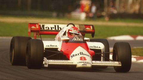 8. (tie) McLaren - 1984 - 75% of wins