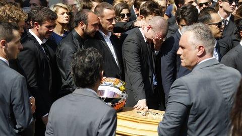 Jules Bianchi's funeral