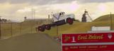 WATCH: Godfrey resets semi-truck jump record at 166 feet