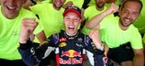 Kvyat secures first F1 podium with second despite penalty