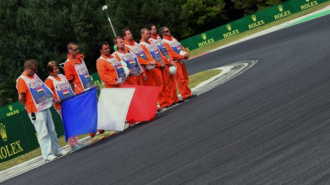 Jules Bianchi remembered at Hungarian GP