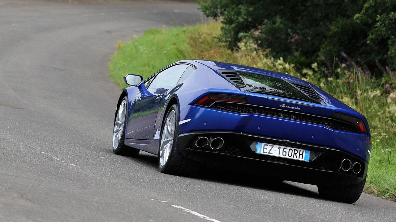 Test drive: Lamborghini Huracan LP 610-4 | FOX Sports