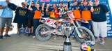 WATCH: Dungey clinches motocross title at Miller Motorsports Park