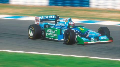 1994 Mild Seven Benetton
