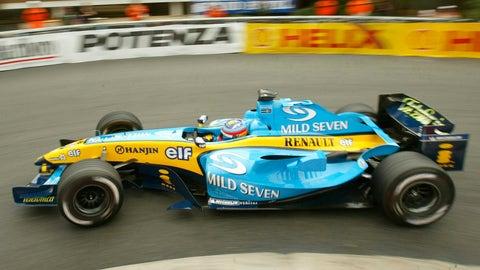 2004 Mild Seven Renault
