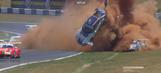 Son of an F1 champion! Piquet flips Porsche nine times
