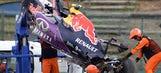 Video: Kvyat takes wild ride during F1 qualifying in Japan