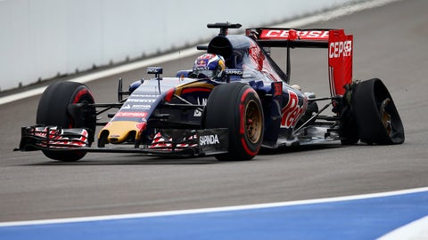 F1: Russian GP in photos