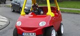 Road-going adult size 'Cozy Coupe' for sale on eBay