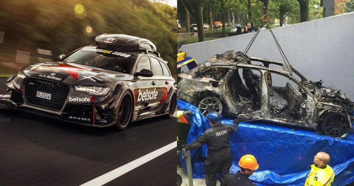 Jon Olsson S 950 Horsepower Audi Burned After Armed